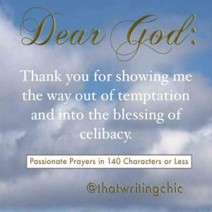 The Blessing of Celibacy