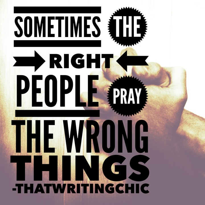 Right People Wrong Things